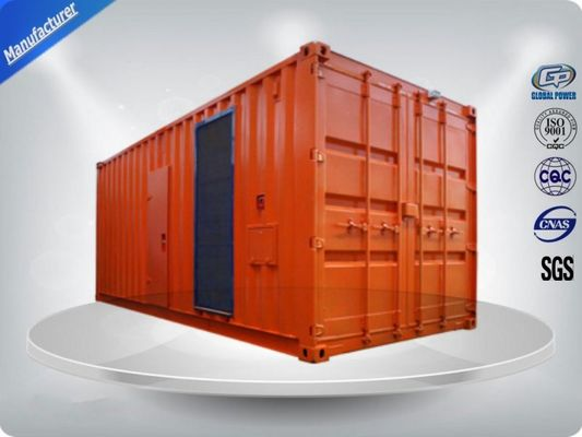 Trung Quốc Silent Containerised Generator Set , VMAN Canopy Generator Set 630-780 Kw/Kva nhà cung cấp