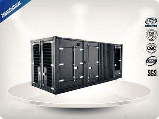 Trung Quốc 2250-2500 kw/kva MTU Container Generator Set Soundproof With 24V DC Electric nhà cung cấp