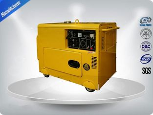 Trung Quốc Three Loops 3 Phase Portable Generator Set 72 dB With Digital Panel , Silent Frame nhà cung cấp
