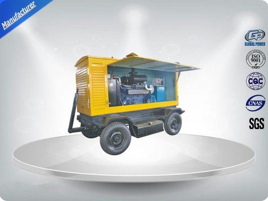 Trung Quốc Brushless Quiet Running Mobile Generators Trailer Mounted Class H Insulation 300Kva nhà cung cấp