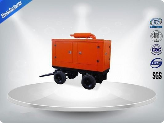 Trung Quốc 400 / 230V Portable Trailer Mounted Generator 191 Kw Output Power In - Line Config nhà cung cấp