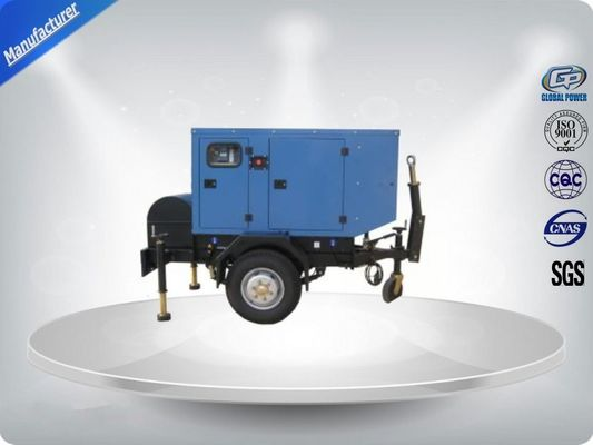 Trung Quốc Canopied Silent Rental Trailer Genset Rental 1500 R / Min Engine Speed nhà cung cấp