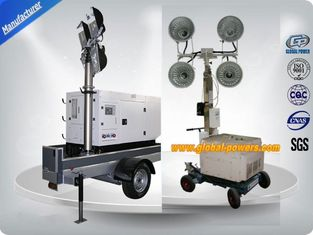 Trung Quốc Brushless Generator Mobile Light Tower Soudproof Three Phase 4 Poles 5-20Kw nhà cung cấp