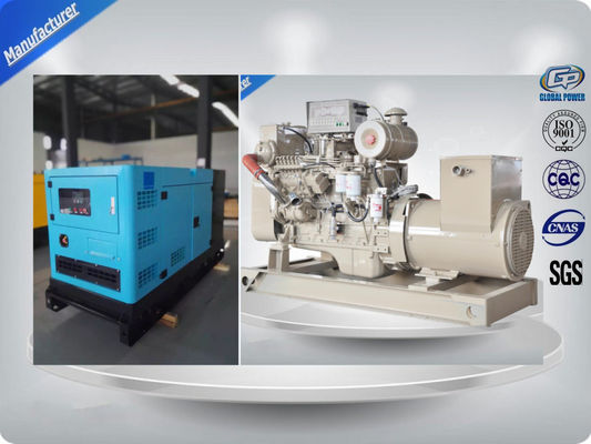 Trung Quốc Water Cooled Alternator Marine Generator Set Diesel Engine For Backup Power nhà cung cấp