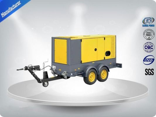 Trung Quốc 50 Hz Water - Cooling Silent Genset Trailer 16 Cylinder Prime Power 1480Kw nhà phân phối