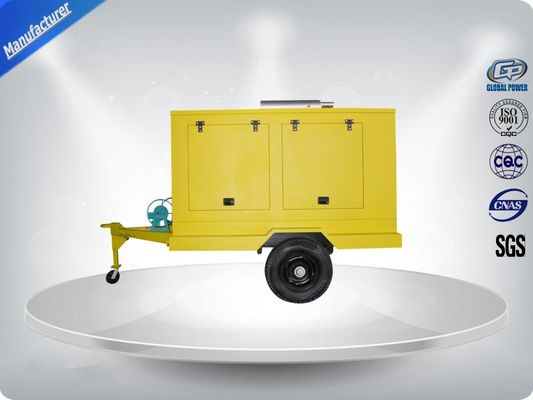 Trung Quốc 12 Cylinder 75dB quietest Trailer Mounted Generator large in - line Config with Dry oil filter nhà phân phối