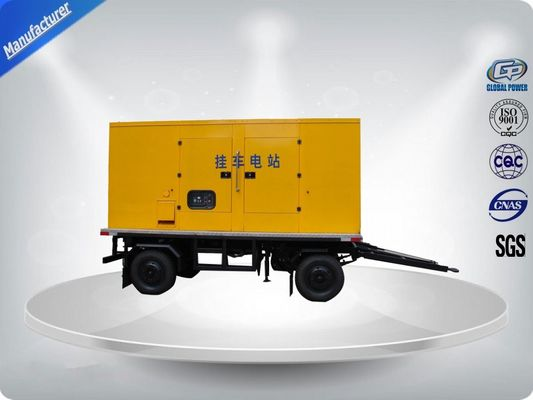 Trung Quốc 750Kva 50 Hz 3 Phase Silent Trailer Mounted Generator With Mecc - Alte Alternator nhà máy sản xuất