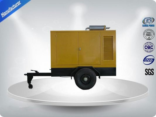 Trung Quốc Movable Three Phase Trailer Mounted Generator Silent Type 200-500Kw 600Kva nhà máy sản xuất