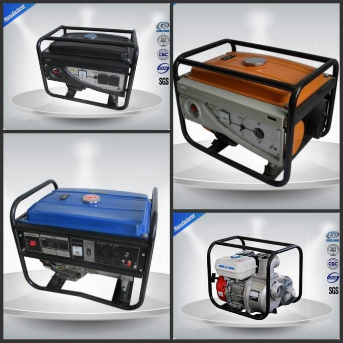 10-12 Kva Open Portable Gasoline Generator Set Silent With Electric Starter